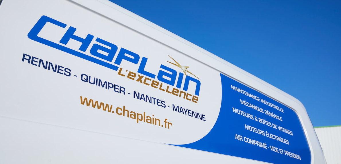 Groupe Chaplain, Rennes, Quimper, Nantes, Mayenne