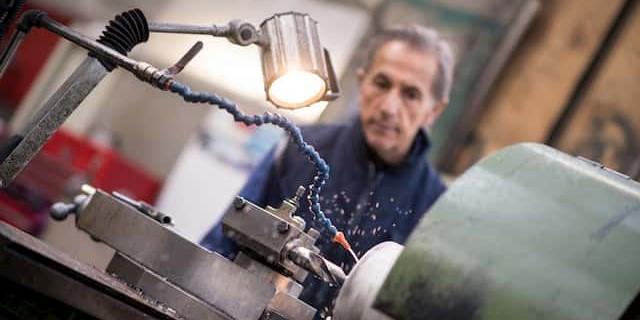 Réparation machines industrielles